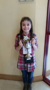 ciara Caffola Cup Winner at Ballina Feis 2016