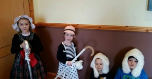 little bo peep and theisr sheep